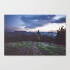Go where you feel the most alive Canvas Print