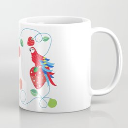 Kitchen scarlet macaw Coffee Mug