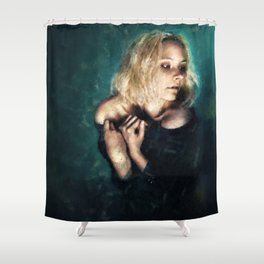 Fear of the Dark Shower Curtain