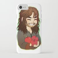 kili iPhone & iPod Cases featuring Kili by angryorangecat