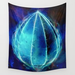 'Harbinger' inverted Wall Tapestry