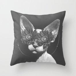 Egyptian Cat Throw Pillow