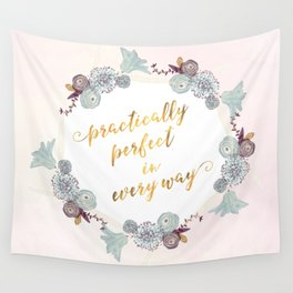Practically Perfect Wall Tapestry