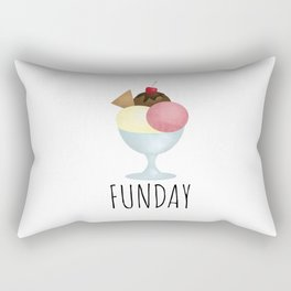 Sundae Funday Rectangular Pillow