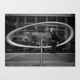 You Missed A Spot. (ACMI Melbourne, 2011) Canvas Print