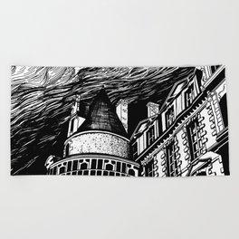 Castle Beach Towel