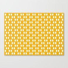 Aelbrecht Yellow Pattern Canvas Print