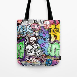 Graffiti is art. Tote Bag