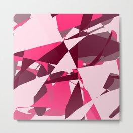 Entropy Four: On Wednesdays We Wear Pink Metal Print