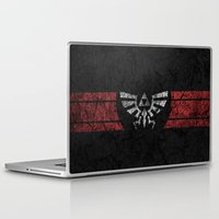 triforce Laptop & iPad Skins featuring TRIFORCE by Stagg Designs