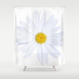 Sunshine daisy Shower Curtain