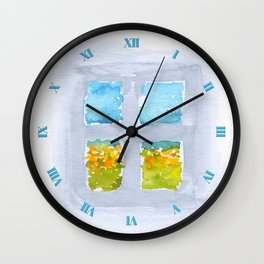 Window No6 Wall Clock