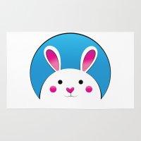 Chubby Bunny Rug