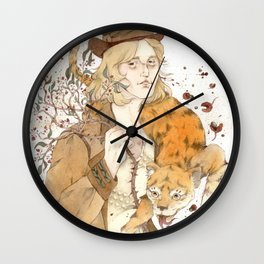 Tom Petty - Sichuan Pepper Wall Clock