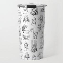 Nier Automata Machines Travel Mug