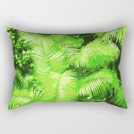 Into the Djungle Rectangular Pillow