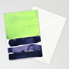 green & violet Stationery Cards