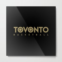 Toronto Basketball Metal Print