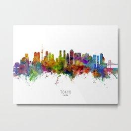 Tokyo Japan Skyline Metal Print