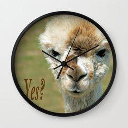 YES? Wall Clock