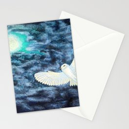 Night swimmer Stationery Cards
