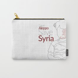 Casualties of the Syrian Civil War awareness Carry-All Pouch