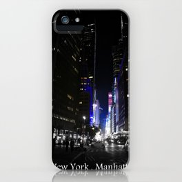 New York State Of Mind iPhone Case