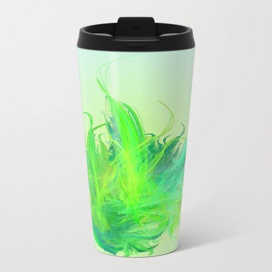 green work - we love  vegan Metal Travel Mug