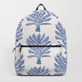 Palm Tree – Navy Palette Backpack
