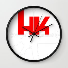 Heckler And Koch - Heckler Und Koch Wall Clock