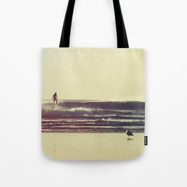 Sunset Surfers Tote Bag