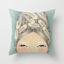 Emotional Spaces Throw Pillow