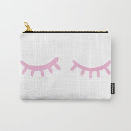 Eyes Shut Carry-All Pouch
