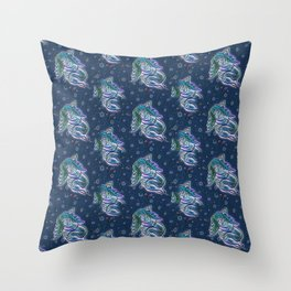 Dormant Troll - Girl Throw Pillow