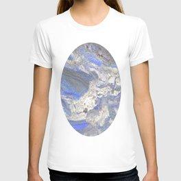 Arabescato-Orobico-Blue-Marble T-shirt