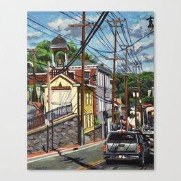Ellicott City Flood Relief- Firehouse Museum Canvas Print