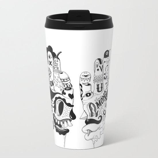 Ono Digitalis Metal Travel Mug