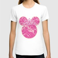 minnie mouse T-shirts featuring Minnie Mouse Princess Pink Swirls by Whimsy and Nonsense