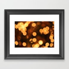 Bokeh Bokeh Bokeh Bokeh (for devices) Framed Art Print
