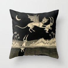 An Abrupt Farewell Throw Pillow