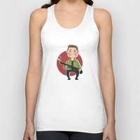 winchester Tank Tops featuring Dean Winchester by RiruD
