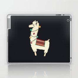 Christmas llama Tree Laptop & iPad Skin