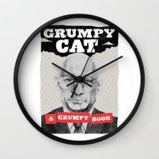 GRUMPY AS THE CAT  Wall Clock