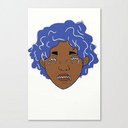 Zip: Maarika (color) Canvas Print