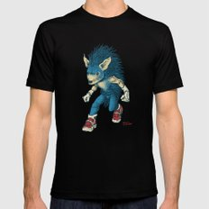 Sonic the Hedgehog X-LARGE Mens Fitted Tee Black