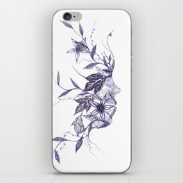 Face of Nature iPhone Skin