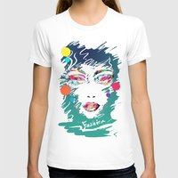 make up T-shirts featuring Make Up by Irmak Akcadogan