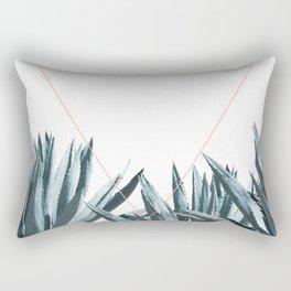 Agave Triangle Rectangular Pillow