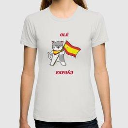 Ole Espana Spanish Cat T-shirt