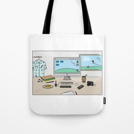 Time to work! Tote Bag